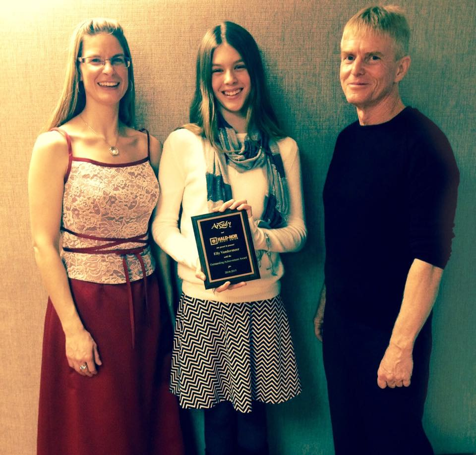 2014 Youth Achievement award