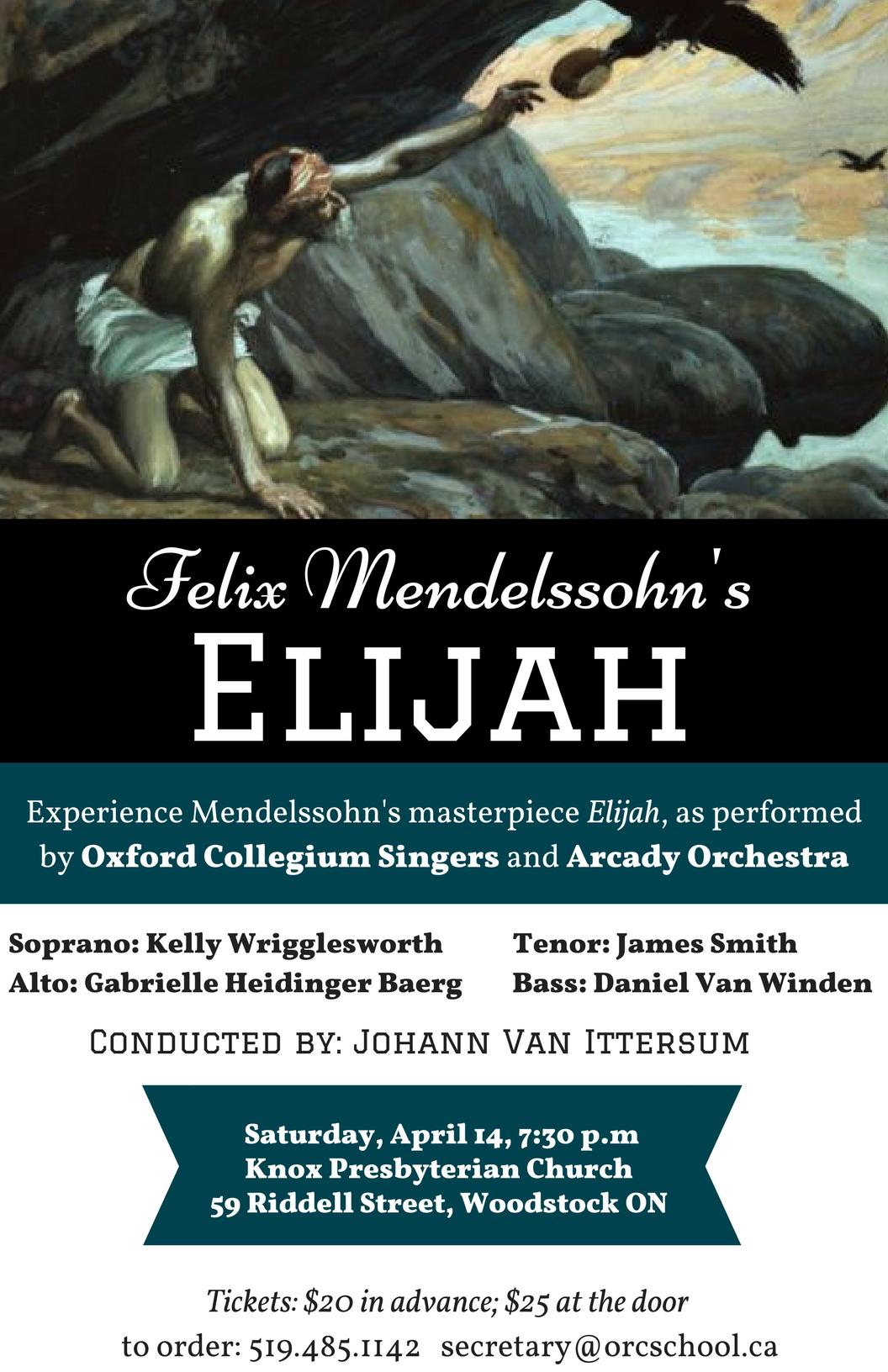 Mendolsohns Elijah