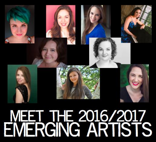 2016/2017 Emerging Artists