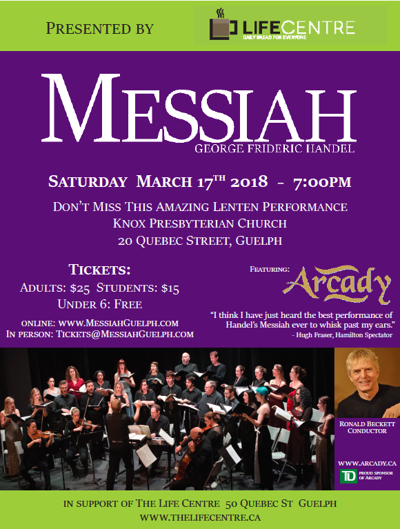 Guelph Messiah 2018