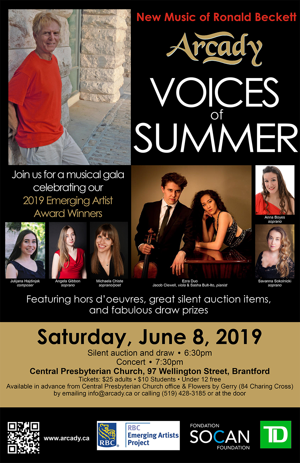 Voices of Summer 2019 poster